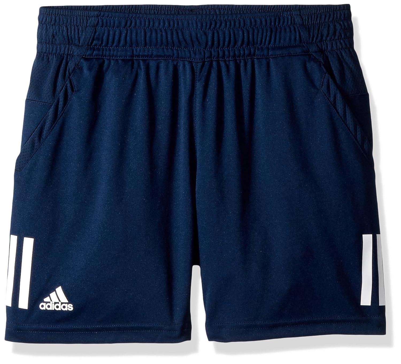 adidas Boys Youth Tennis Boys 3-Stripes Club Short