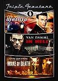 Jean-Claude Van Damme Triple Feature (Derailed / In Hell / Wake of Death)