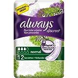 Always Discreet - Compresas normales para pérdidas de orina e incontinencia