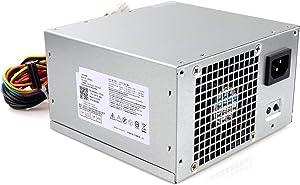 Zoravson 300W Power Supply fit for Dell Optiplex 7010 9010 Inspiron 3847 519 530 537 540 541 545 560 580 620 660/ Studio 540 545/ Precision T1500 T6100 T1650/ Vostro 201 230 260 270 410 420 430