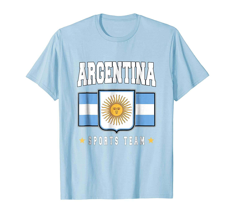 Amazon.com: Argentine T-shirt Argentinian Flag Soccer Futbol Fan Jersey: Clothing