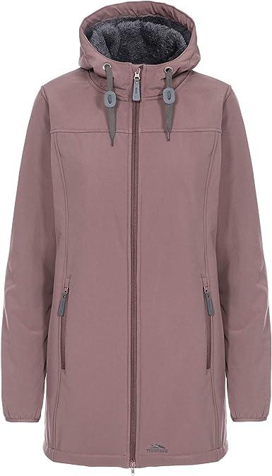 Trespass Reveal Womens Waterproof Parka Jacket Breathable /& Padded in Black
