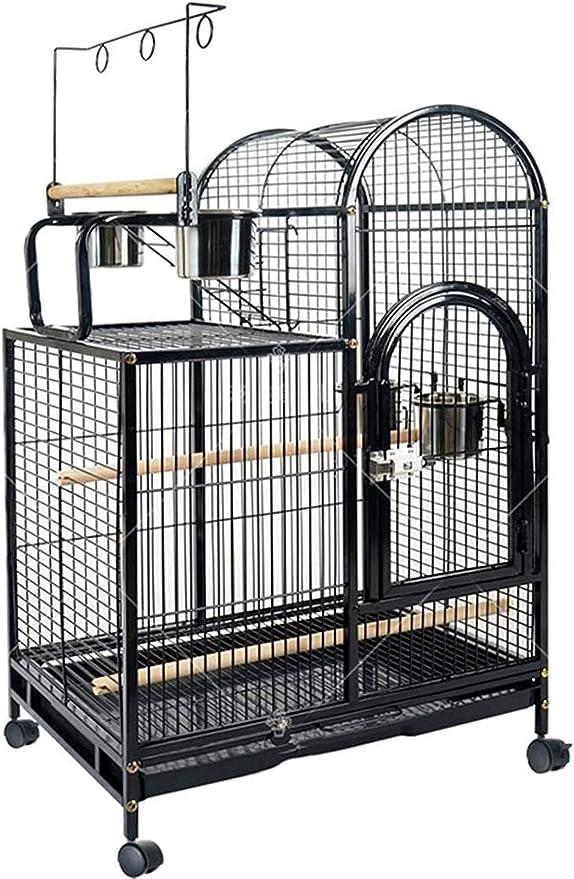 Jaula dpájaros duradera y ecológica, Jaula de vuelo para periquitos Parrot Jaulas para pájaros grandes, jaula de vuelo para periquitos, jaula de loro casera de lujo, jaula de pájaros decorativos grand
