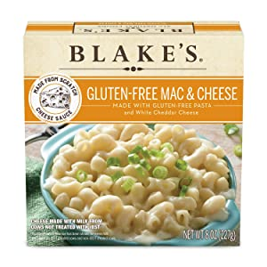 Blakes Gluten Free Mac & Cheese With White Cheddar Cheese Sauce, Frozen, 8 Oz., (Frozen)