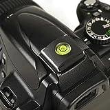 Protector para la zapata del flash con nivel en forma de bola esférica para zapata universal para cámaras réflex Nikon, Canon, Olympus, Pentax y Fujifilm