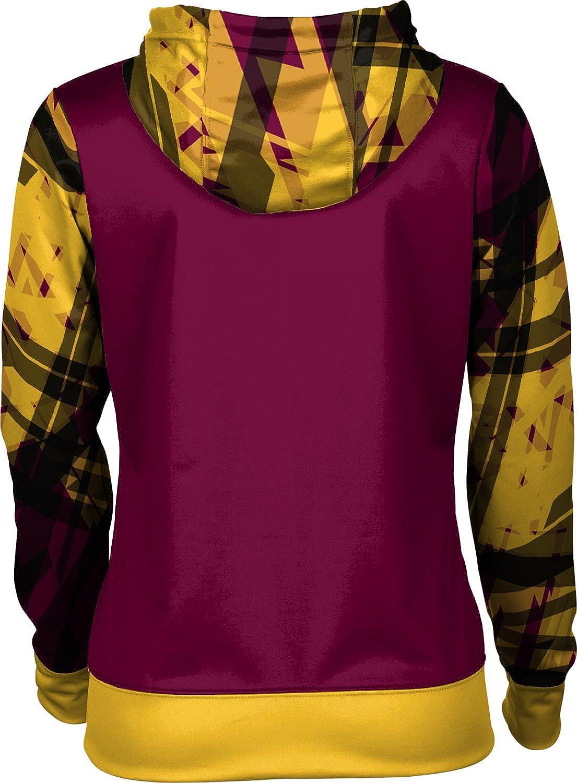 School Spirit Sweatshirt ProSphere Central Michigan University Girls Pullover Hoodie Crisscross