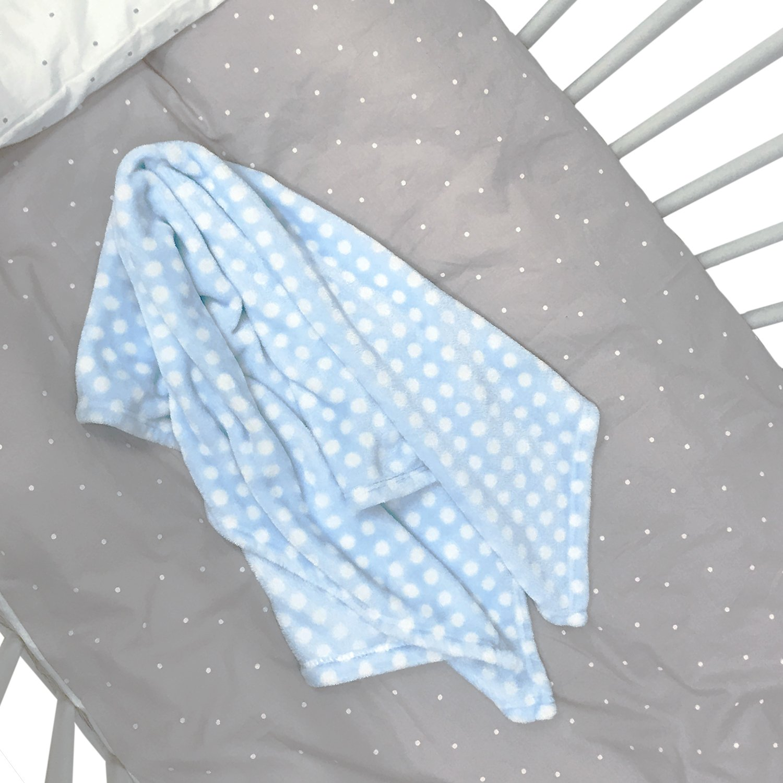 Cow Pattern Printed Baby Blanket Cute New York Baby Blanket