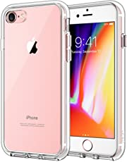 JETech 3421A- Case for Apple iPhone 8 and iPhone 7 Shock-Absorption Bumper Cover, HD Clear