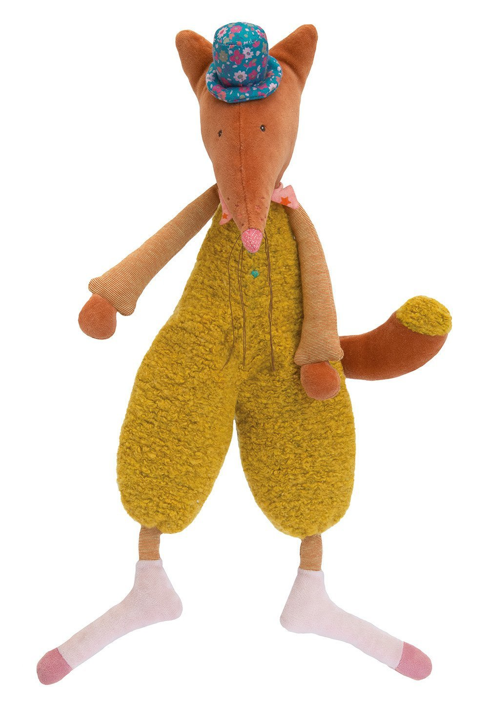 Moulin Roty Les Tartempois Dede the Fox Plush 18.5