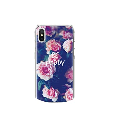 Amazon.com: tthappy76 TPU Case for iPhone X 7 8 Plus Rose ...