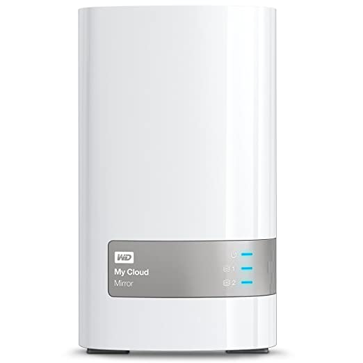 919 opinioni per WD WDBWVZ0160JWT-EESN My Cloud Mirror Gen2 Network Attached Personal Storage,