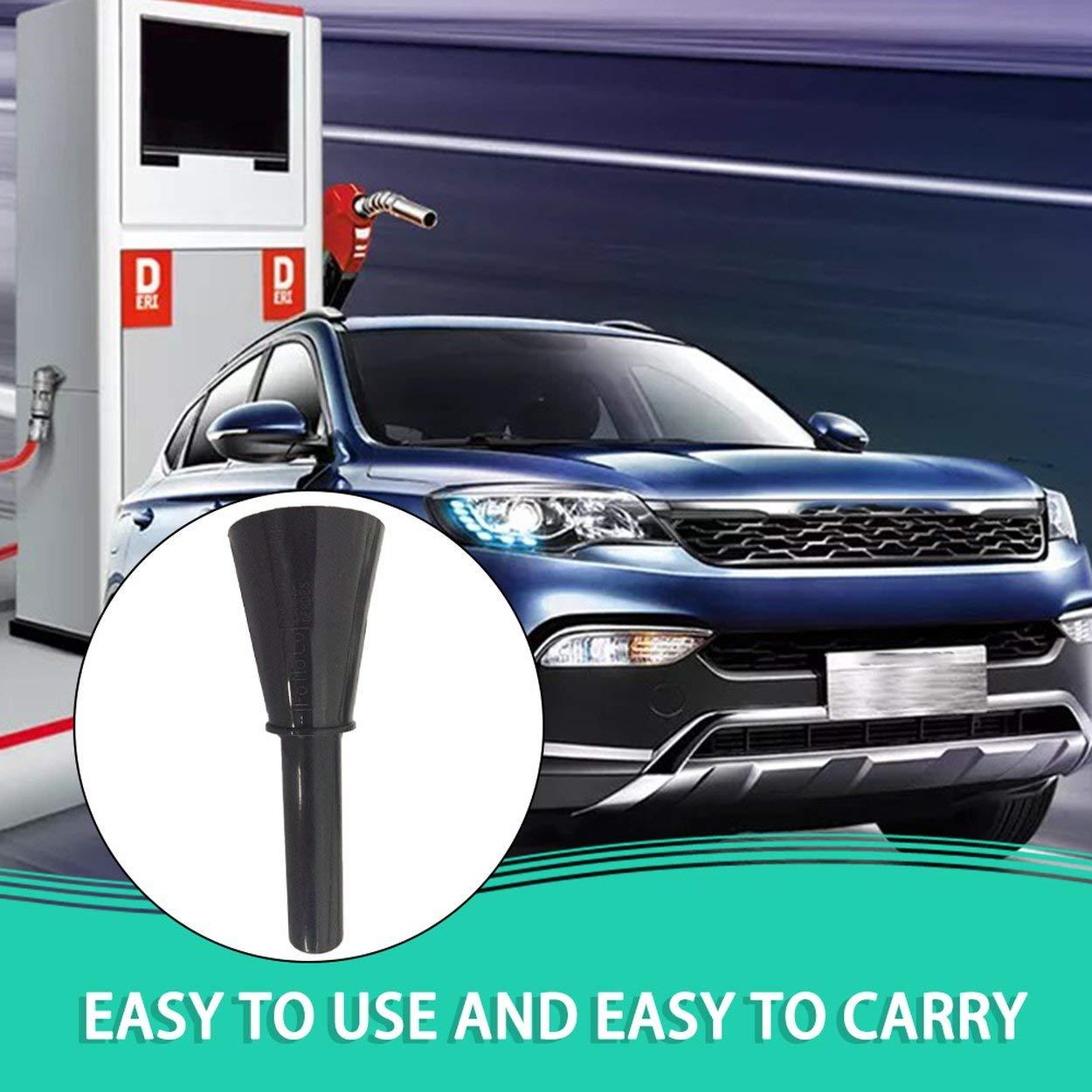 Nero Caroline Philipson Diesel di Emergenza Benzina Imbuto per Focus Mk2 2007-2011 Accessori Auto Sostitutiva Imbuto