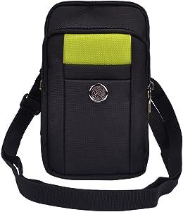 Women Running Belt Fanny Pack Smartphone Case Shoulder Bag for Blu Grand 5.5 HD, Dash X Plus LTE, Life XL, Motorola Moto G, LG G Stylo