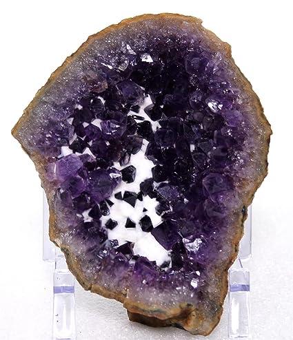 Amazon com: Mine Treasures A++ Purple Amethyst Crystal