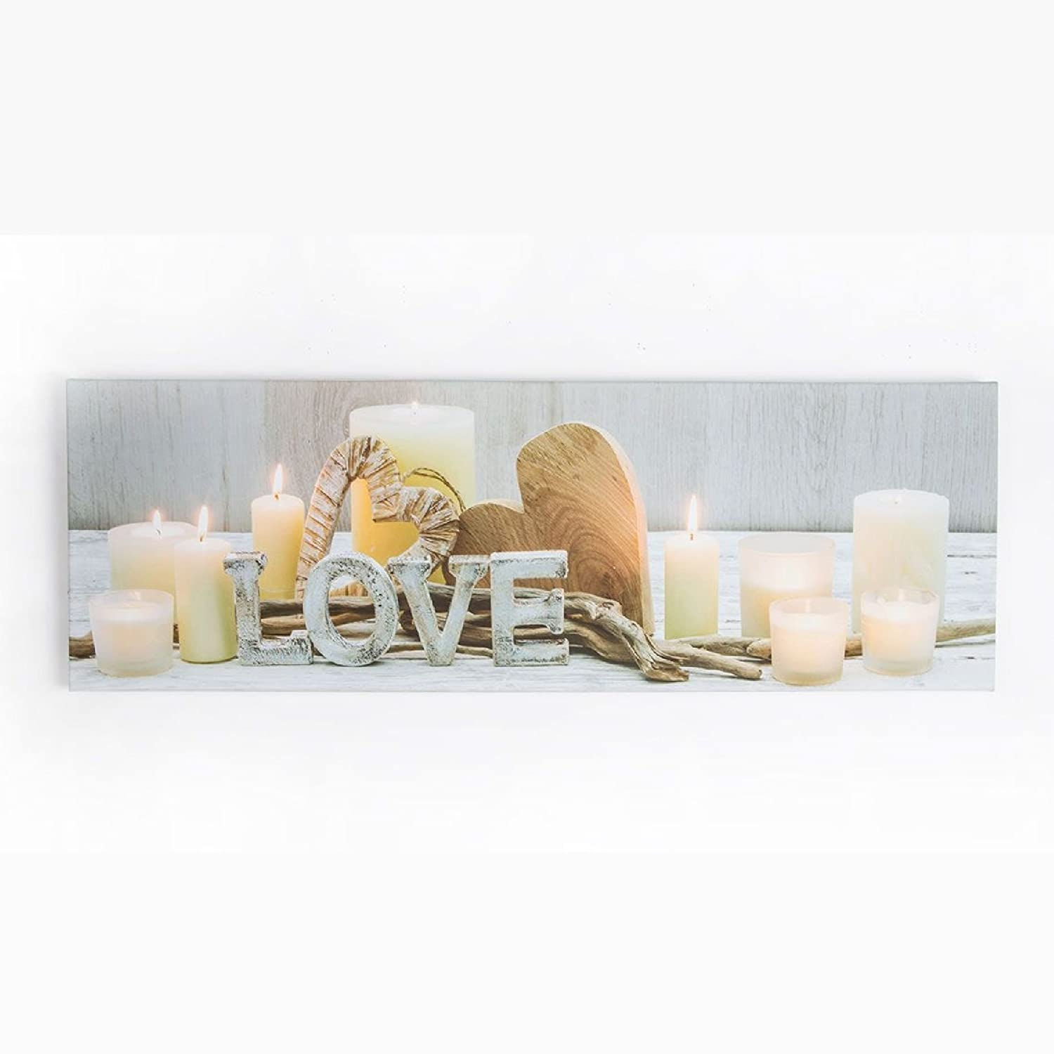 Art for Home Love Led Printed Canvas Graham & Brown 41-841