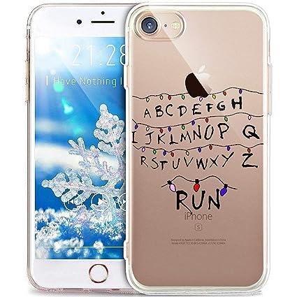 Funda iPhone 6,Funda iPhone 6S ,Funda Silicona Gel Carcasa Ultra Delgado Flexible Tpu Goma Silicona Protector Flexible Cover Case Estuche Protective ...