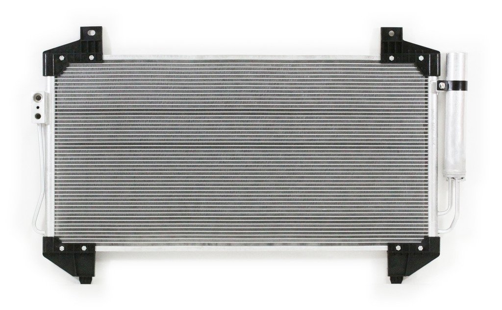 Pacific Best Inc For//Fit 4293 14-16 Mitsubishi Outlander w//Receiver /& Drier Parallel Flow A-C Condenser