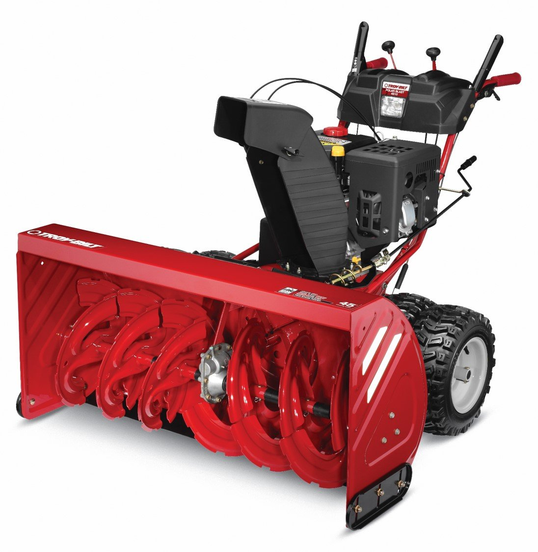 Troy-Bilt Polar Blast 4510 420cc Electric Start 45-Inch Two-Stage Gas Snow Thrower