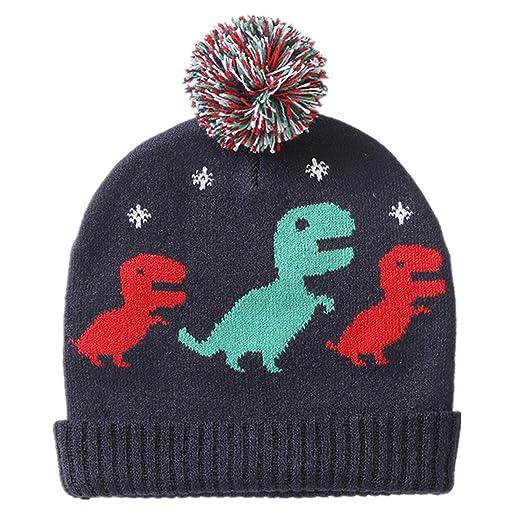 Amazon Elikidsto Baby Boys Girls Winter Beanie Hat Cartoon
