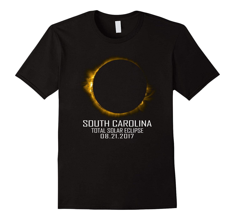 Total Solar Eclipse South Carolina States 2017 T-shirt-BN