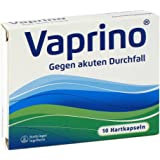 Vaprino - Cápsulas para diarrea (100 mg, 10 unidades)