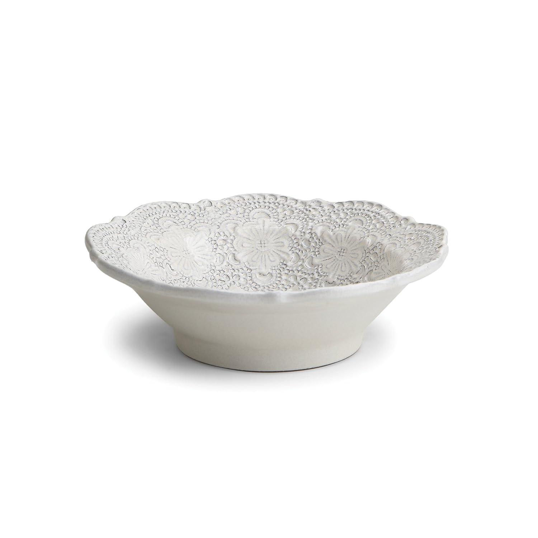 Arte Italica Merletto Antique Cereal Bowl, Cream MER1319AL