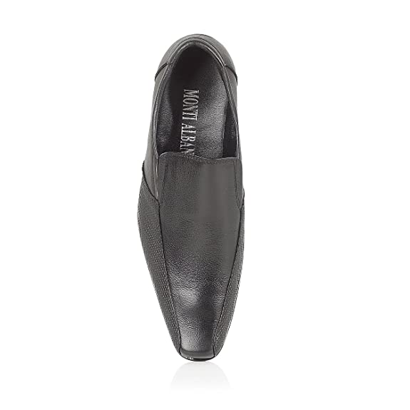 Monti Albani - Zapatos de cordones para hombre, color marrón, talla 39.5