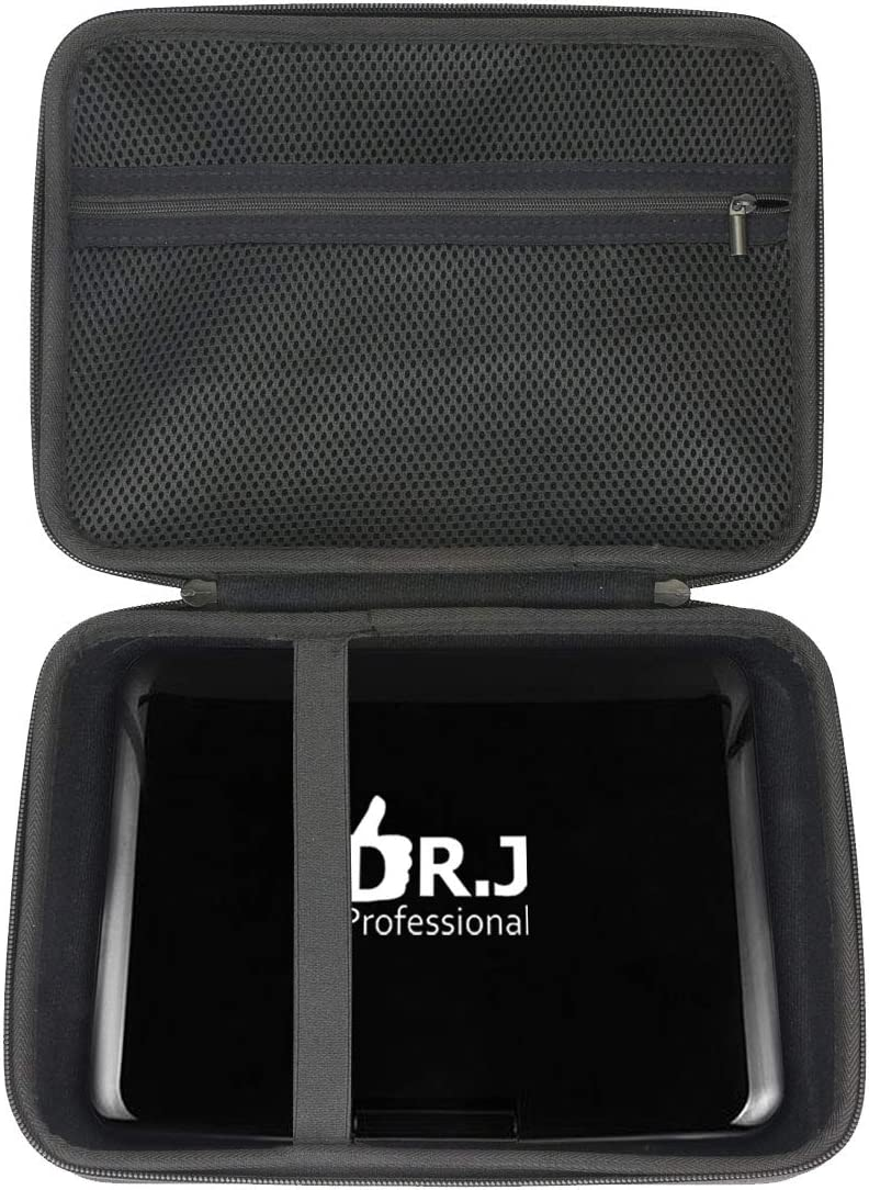"""Khanka Hard Travel Case Replacement for DR. J Professional 12.5"""" Portable Car Video DVD Player 10.5"""""""