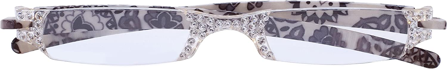 Sight Station Opera White Lace Reading Glasses Strength 3