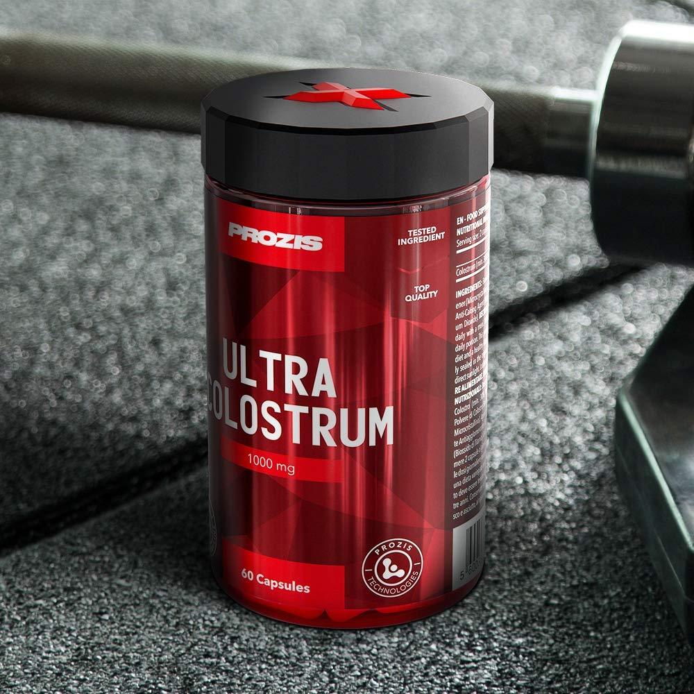 Prozis Colostrum 1000mg 60 Caps - Complemento para Estimular tanto el Crecimiento y la Recuperación Muscular así como del Sistema Inmunitario - 30 ...