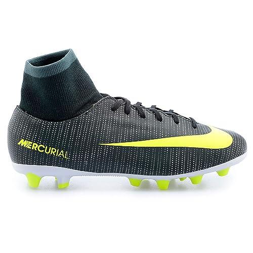 92c17345148 Nike 903603-373, Botas de fútbol para Niños, Verde  (Seaweed/Volt/hasta/White), 37.5 EU: Amazon.es: Zapatos y complementos