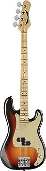 Dean PARAMOUNT M TSB Paramount Maple FB Bass Guitar 3 Tone Sunburst