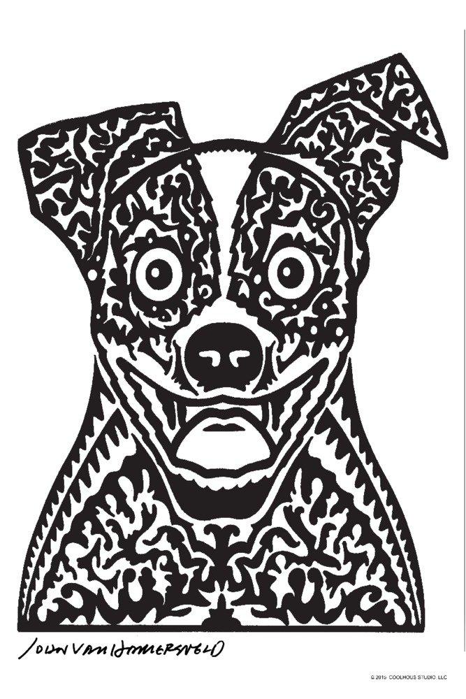 Woof – John Van Hamersveldポスターアートワーク 36 x 54 Giclee Print LANT-72508-36x54 B01M8LYO65  36 x 54 Giclee Print