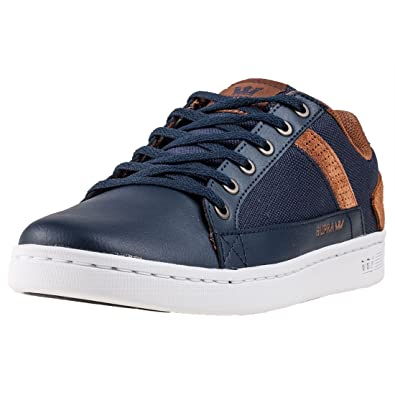 897786d6e504 Supra Mens Westlake Outerspace Brown White Shoes Size 13  Amazon.co ...