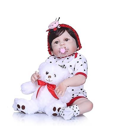 Amazon.es: Nicery Reborn - Muñeca de bebé (vinilo de 22 ...
