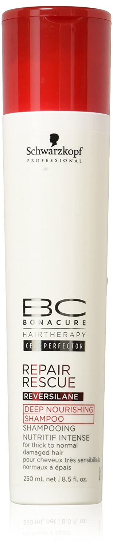 BC Bonacure - Repair Rescue Reversilane - Champú para cabellos dañados finos, 1L Henkel Professional 8831 2015499_-1000ml