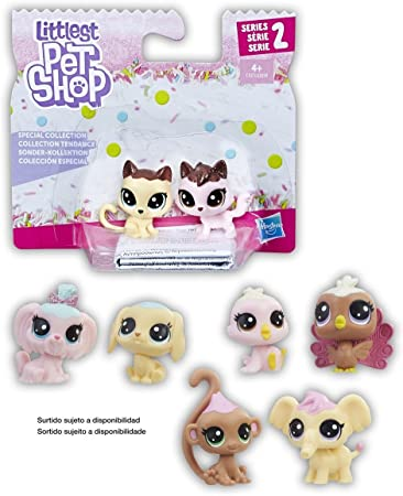 Hasbro- Littlest Pet Shop colección Especial, Multicolor (Habro 399E)