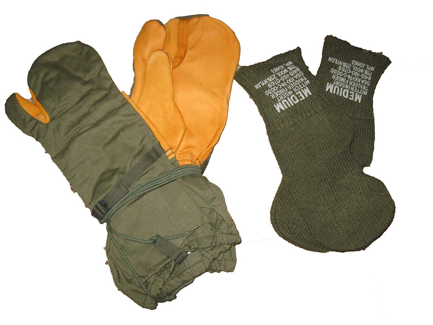 Militaria Collectables GERMAN army military surplus winter gloves