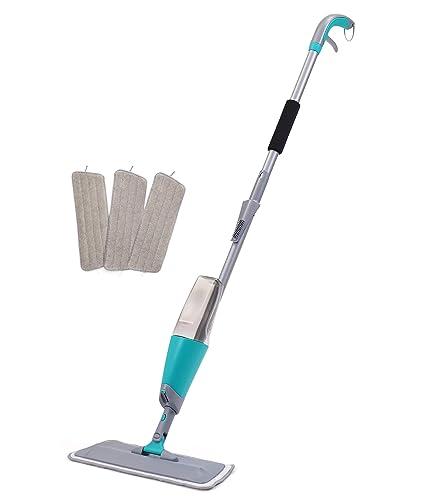 Amazon Com Finnhomy Spray Floor Mop Kit With 3 Free Reusable