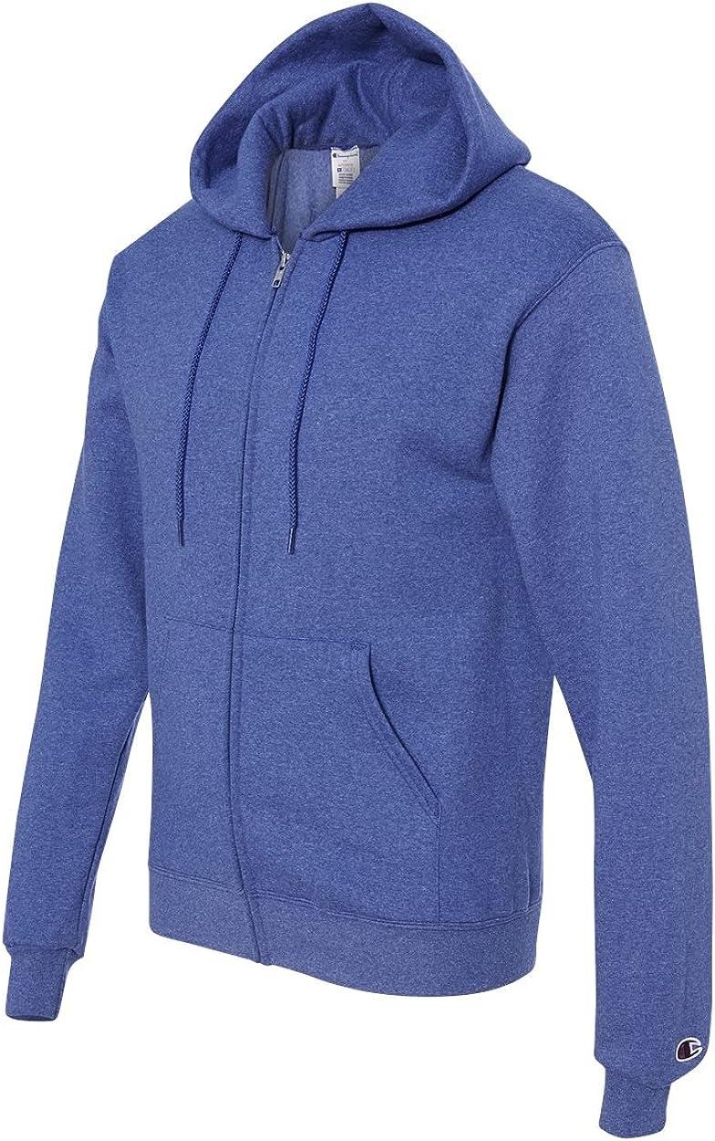 Champion S800 - Eco Full-Zip Hooded Sweatshirt Royal Blue Heather b5RYp