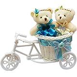 Anishoptm Beautiful Cute Teddybear With Beautiful Cycle Gift Set