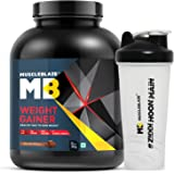 MuscleBlaze Weight Gainer (Chocolate, 3 Kg / 6.6 lb with Shaker)