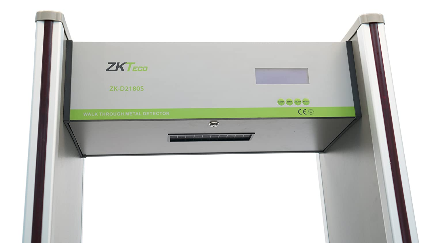 Amazon.com : ZKTeco High Sensitive Walk Through Metal Detector 18 Zone : Garden & Outdoor