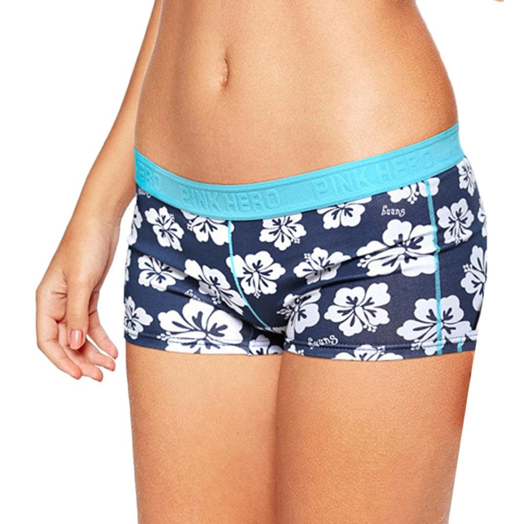 Jaminy Damen Shorts Boxer Boxershorts Briefs Ultrabequem Retroshorts Unterwäsche Unterhose Underpants Knickers Shorts S-XL