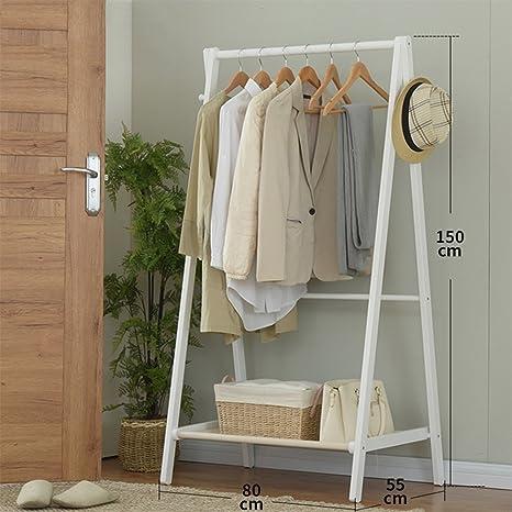 Amazon.com: Perchero de madera simple y moderno, para colgar ...