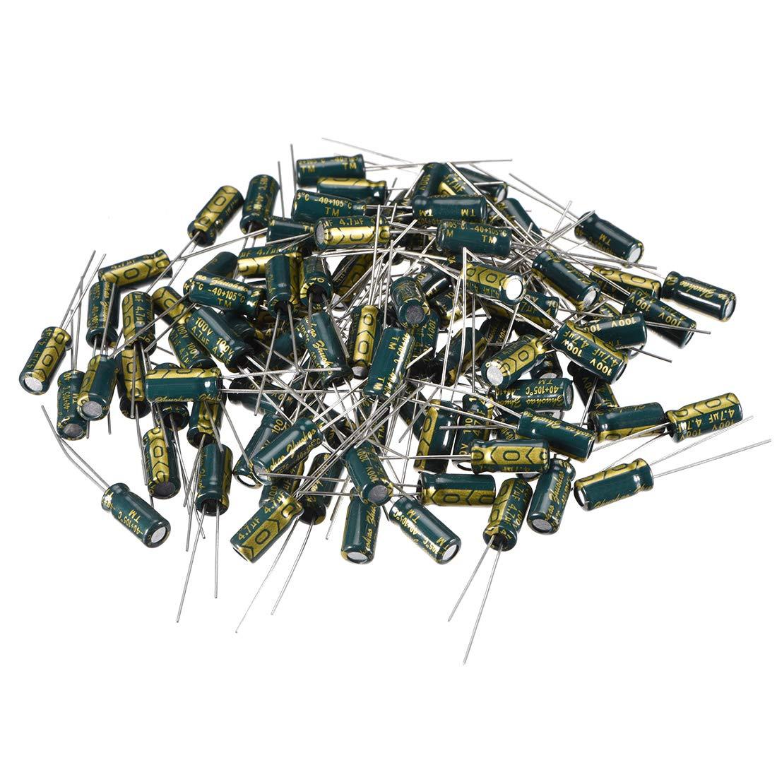 25pcs condensateur /électrolytique alu faible ESR 680UF 35V 105/°C 3000H 10x17mm