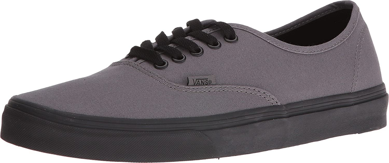 Premium-Auswahl 100% echt ein paar Tage entfernt VANS Authentic Pop Outsole Pewter/Black Skate Shoes Unisex (8 B(M) US Women  / 6.5 D(M) US Men)