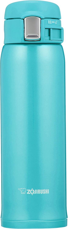 Zojirushi SM-SC48AV Stainless Mug, Turquoise Blue