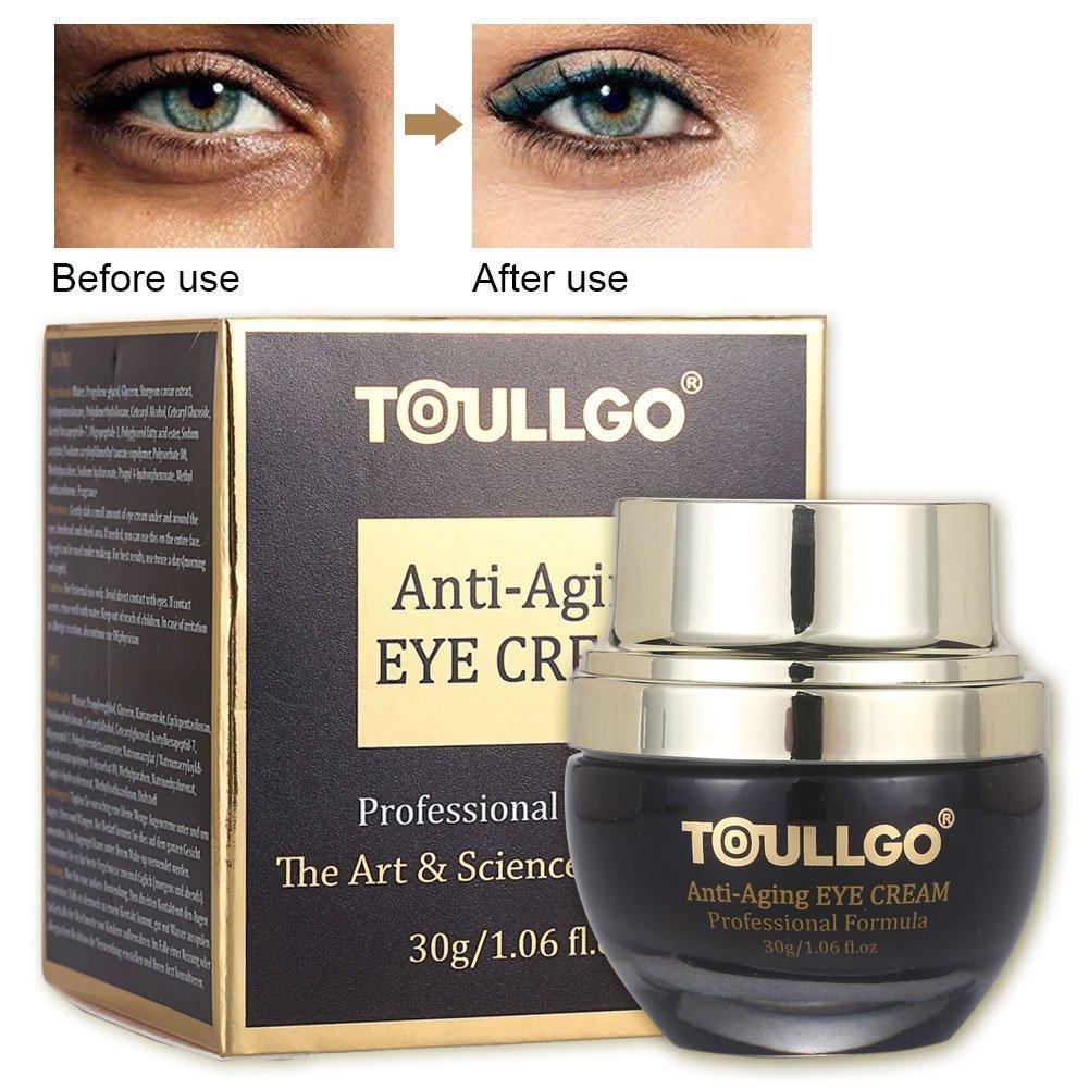 Anti Aging Eye Cream, Eye Cream Moisturizer, Refreshing Eye Cream, Eye Gel for Dark Circles, Puffiness, Wrinkles and Bags, Effective Anti-Aging Eye Gel for Hyperpigmentation OxygenBeauty