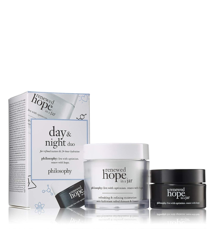 philosophy renewed hope day and night moisturizer set, 2.53 oz